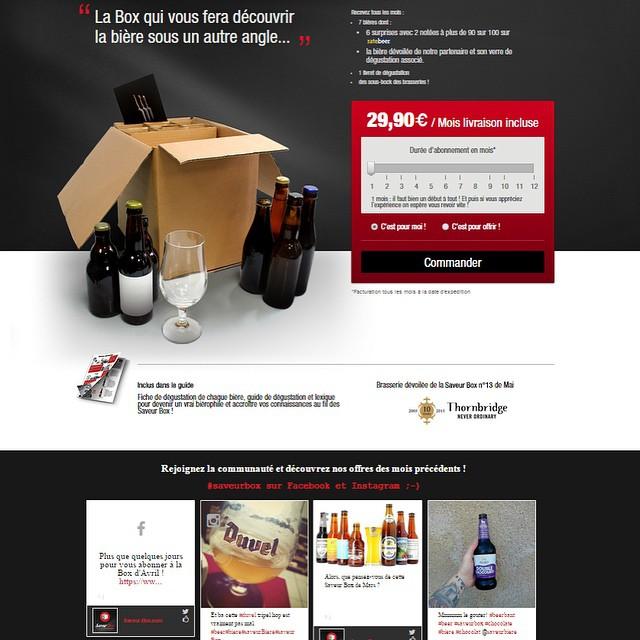 Cas client SaveurBox square