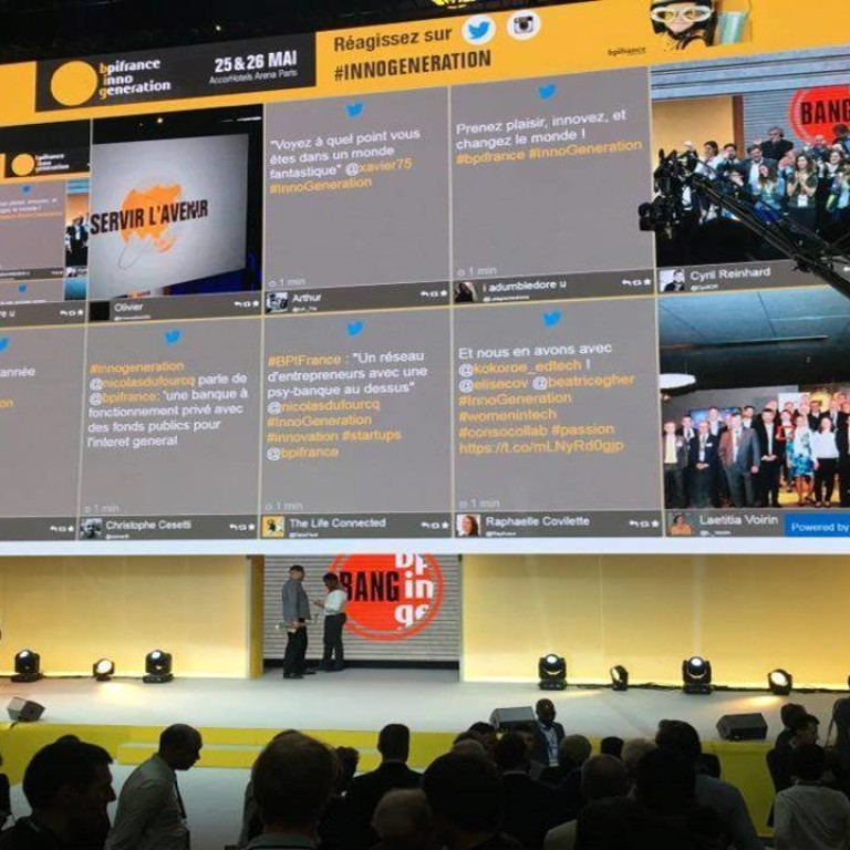 Live Social Media Wall for Events - Display Twitter