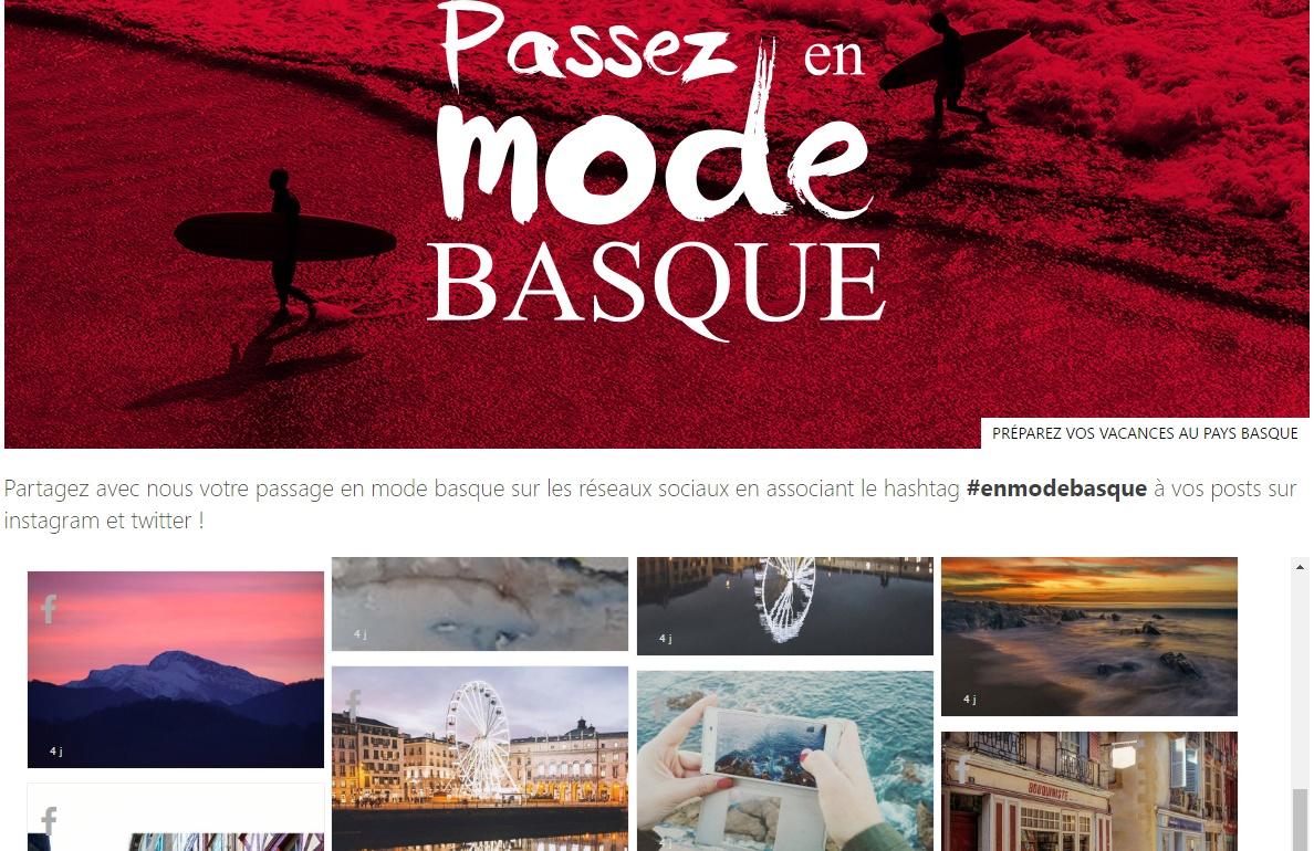 Le social wall exposé sur leur site internet a eu un impact tellement iimportant que l'office de tourisme a remporté le trophée de la communication à Bordeaux.