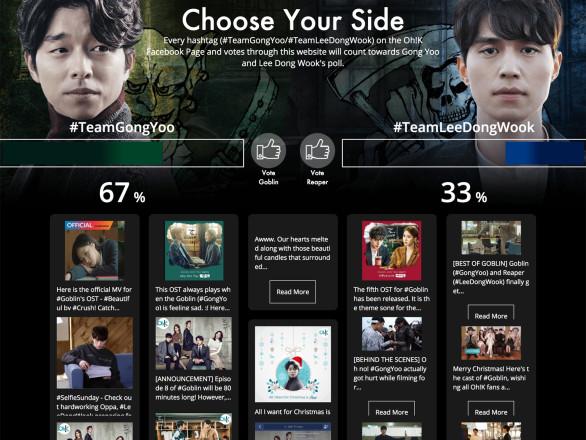 Cette stratégie marketing a permis de mettre en place un social wall pour la télévision afin de créer un lien de proximité avec le public.