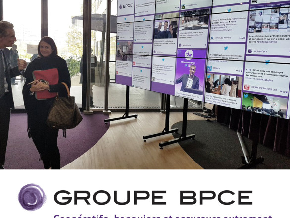 The BPCE Digital Week mixed social media and innovation to createdynamic within the company and improve the communication.