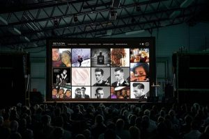 social wall live event example